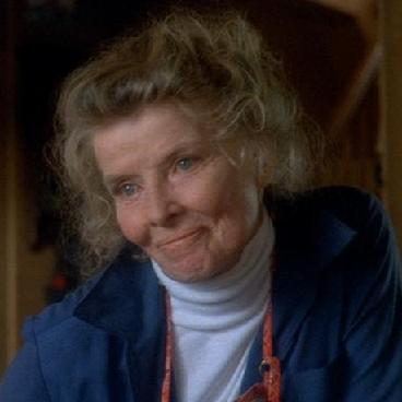 Katharine Hepburn, On Golden Pond